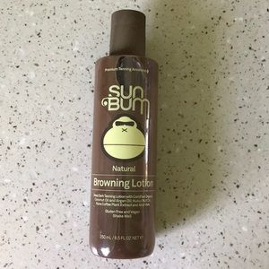Never used! SunBum natural browning lotion